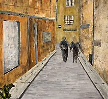 """St. Tropez"" Original acrylic painting by Tree3332art"