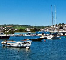 Teignmouth Harbour 2 ~ Devon by Susie Peek
