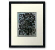 The Kraken Framed Print