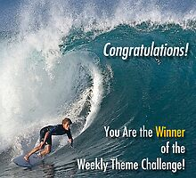 Winner Weekly Theme Challenge banner by Alex Preiss
