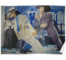 "Micheal Jackson ""Smooth Criminal""  Poster"