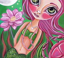 """Cancer (Zodiac Mermaid)""  by Jaz Higgins"
