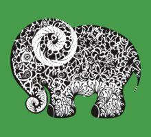Elephant Doodle Kids Clothes