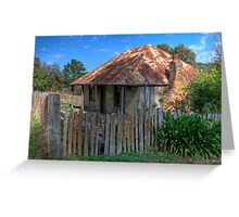 Beyer's Cottage, Hill End, NSW, Australia Greeting Card