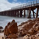 Naracoopa Jetty by Karen Scrimes