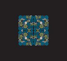 Spirals Quartet - Print by Sybille Sterk