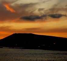 Lanzarote Sunset (Panoramic) by larry flewers