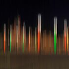 Pillars of coloured light by cofiant