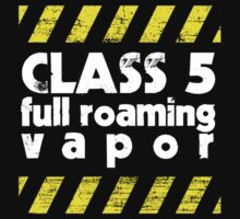 Class 5 Full Roaming Vapor  by Brian Edwards