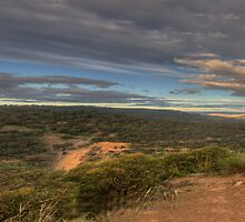 Contemplation Point # 2 (50 Exposure HDR Panoramic)                                  - Merlin's Lookout, Hill End NSW Australia - The HDR Experience by Philip Johnson