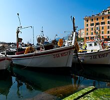 CAMOGLI HARBOR Italy by mauryc69