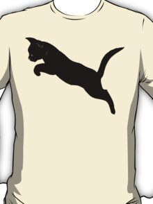 Kitten Jumps Over the Lazy Puma T-Shirt