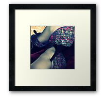 05-03-11:  When In Doubt, Shoes Framed Print