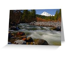 Hood River Landscape Greeting Card