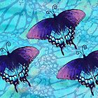 Blue Butterfly by JanDeA