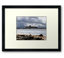 Remnants of the Ice Age Framed Print