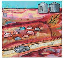 silos drive by HelenAmyes