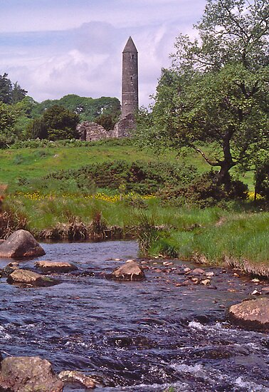 Round Tower, Glendalough, Co Wicklow, Ireland by johnrf