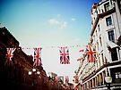 Bunting - Regent Street, London by Lisa Hafey