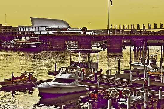Yellow scenery & speed boats...:On Featured work by Kornrawiee