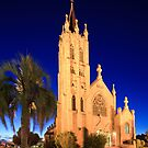St Mary's Church during Blue Hour by David de Groot