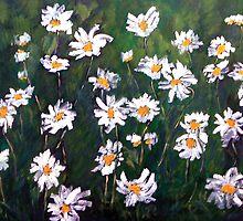White flowers by DoriSanz