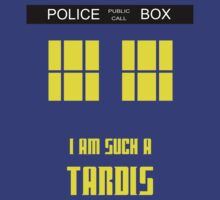 Doctor Who - I'm such a Tardis by koalakoala