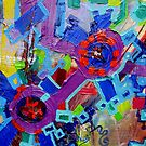 Excerpt 4 from Rube Goldberg Abstract by Regina Valluzzi