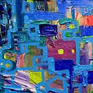 Excerpt 5 from Rube Goldberg Abstract by Regina Valluzzi