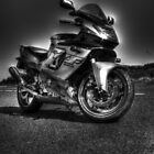 Yamaha Thundercat Monotone HDR by Chris Cherry