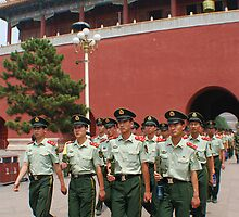 Guards of the Forbidden City by Ashley Zeigler