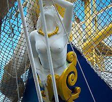 nice figurehead of a ship by Alessandra Antonini