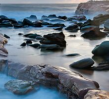Morning Rocks at Avoca by Mike Salway
