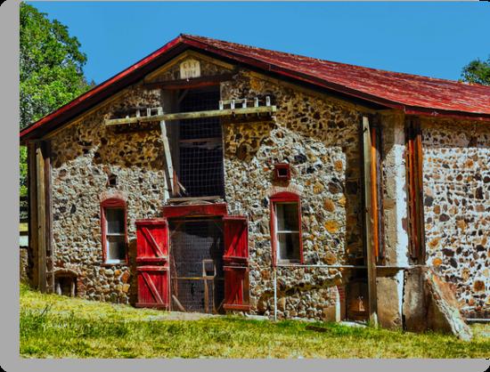 Jack London's Stable (barn? animal enclosure??) by Lenny La Rue, IPA