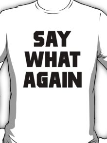 Pulp Fiction Say What Again T-Shirt