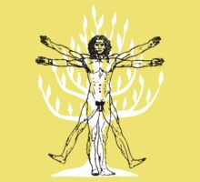 Vitruvian Man on Tree of Life by Adolph Hernandez