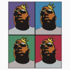 HIP-HOP ICONS: NOTORIOUS B.I.G. (4-COLOR) by S DOT SLAUGHTER