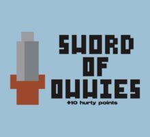 Sword of Owwies by GeekCupcake