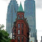 Triangular Brownstone, Toronto by TeaCee