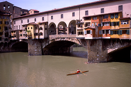 PonteVecchio, Florence, Italy by johnrf