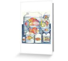 colorful fish Greeting Card