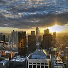 Melbourne Sunrise HDR by Lucas D'Arcy