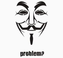 Anonymous - Guy Fawkes Mask Symbol by phreshdesigns