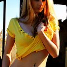 Yellow gal 2 by Scott Curti