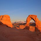 Delicate Arch at Sunset by outcast1