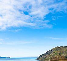 Landscape, Maclean`s Nose, Loch Sunart, Ardnamurchan, Scotland by Hugh McKean