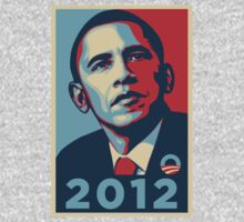 Obama 2012 Election Poster T-Shirt by Greg B