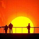 A Golden Sunset - Tate Modern installation by Victoria limerick