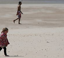 Camber Beach Kid 2 by Sally P  Moore