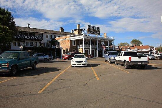 Route 66 - El Rancho Hotel by Frank Romeo